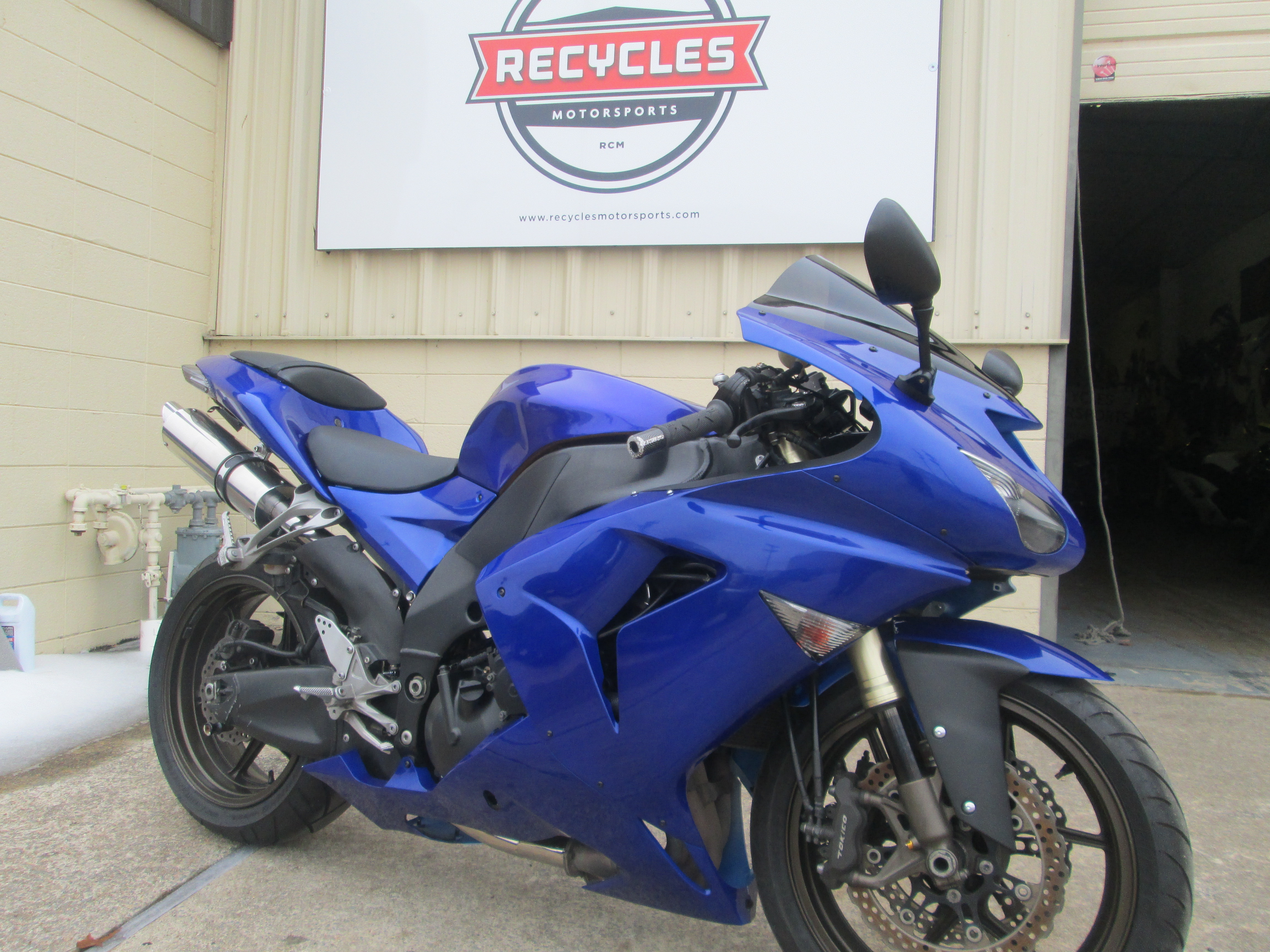 featured recycles motorsports Ninja ZX10 zx10 zx10r custom north little rock arkansas ar motorcycle
